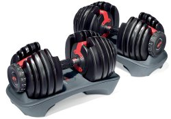 The Best Adjustable Dumbbell You'll Ever Buy:The Bowflex SelectTech 552